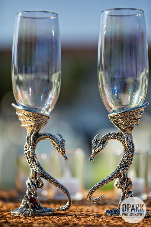 modern-vintage-carnival-wedding-reception-glasses