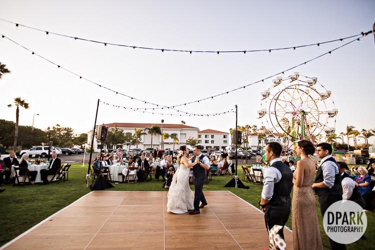 plaza-at-cabrillo-marina-wedding-reception