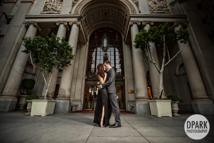 millennium-biltmore-hotel-bride-groom-photos