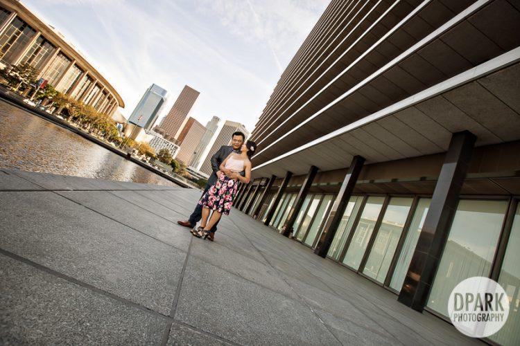 Downtown LA Engagement | Sandra + James