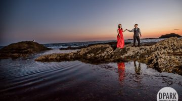 Sneak Peek | Montage Beach Engagement | Phuong + Richard