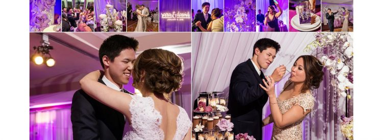 los-angeles-purple-modern-wedding
