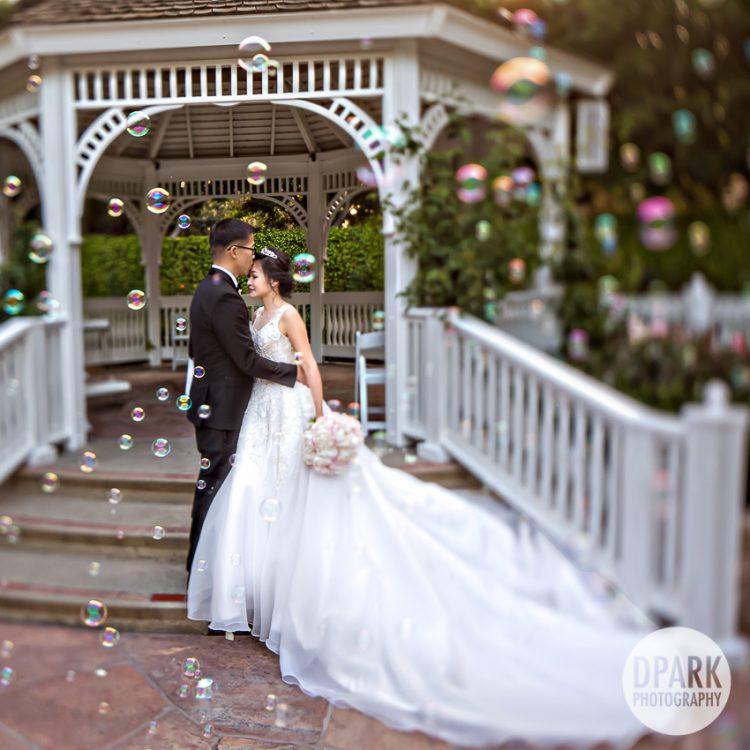 best-cinderella-modern-fairy-tale-wedding-bubbles