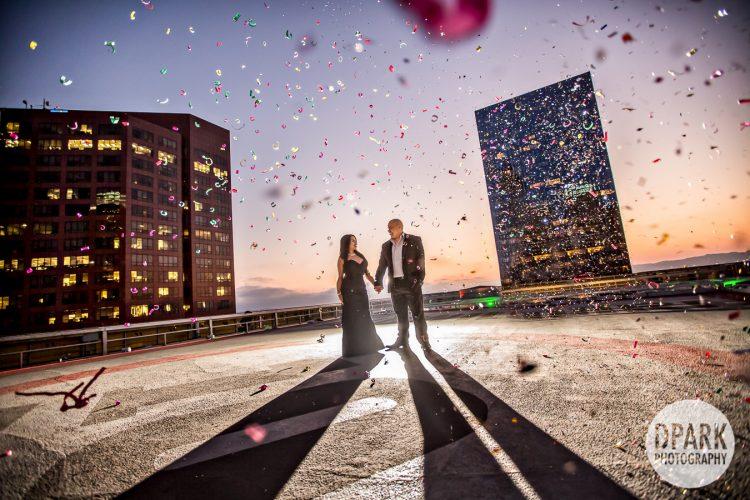 rooftop-helipad-downtown-los-angeles-engagement-tenten-wilshire