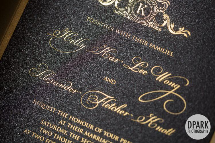 black-champagne-wedding-invitations-glam