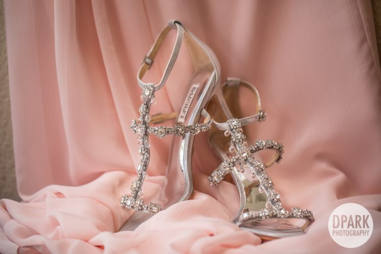 badgley-mischka-pink-bedazzled-silver-bridal-heels-destination