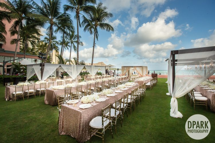 Royal Hawaiian Luxury Destination Wedding Videographer