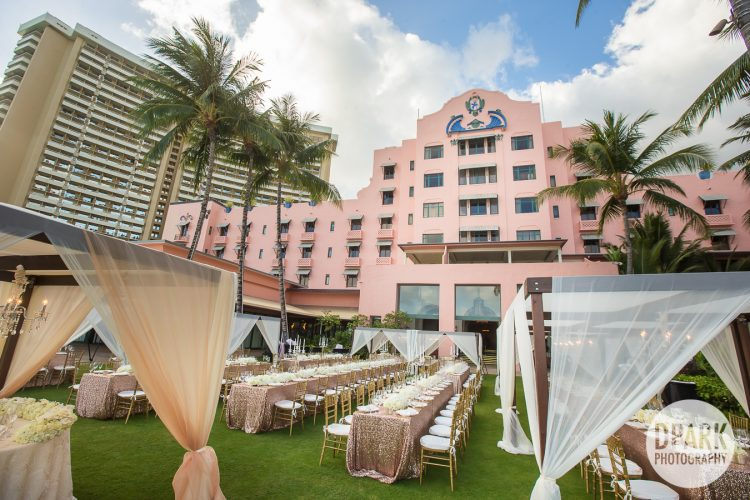 Royal Hawaiian Luxury Destination Wedding Cinematographer