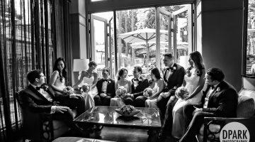 Fairmont Miramar Hotel Wedding | May + Michael