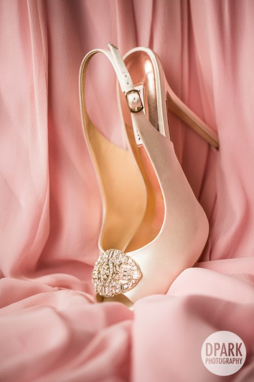 badgley-mischka-white-pink-bridal-heels