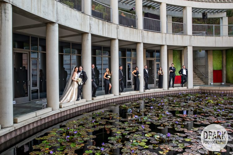 skirball-torrance-luxury-jewish-bridal-party-wedding-photos