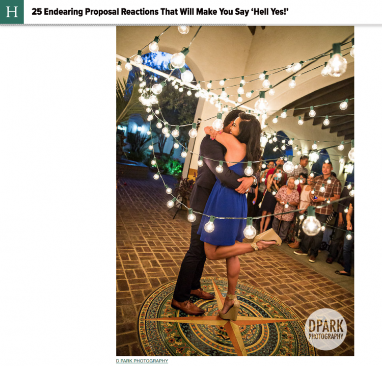 Best Proposal Reaction Published on Huffington Post