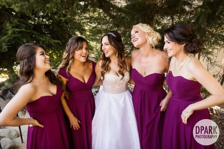 burgundy-maroon-bridesmaids-dress-attire-wedding