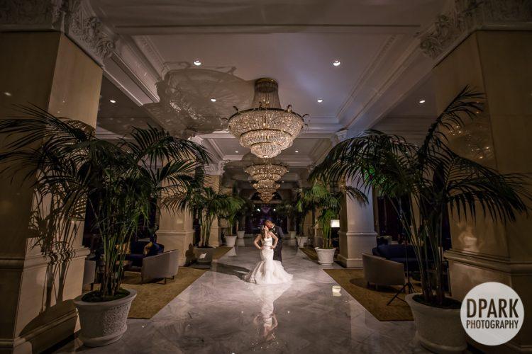 Luxury Us Grant Hotel Wedding Photographer Lobby