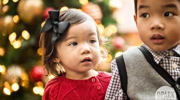 Irvine Spectrum Christmas Family Photos