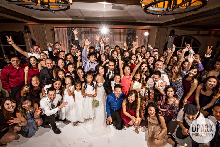 mesa-verde-country-club-costa-mesa-wedding-reception-group-photo