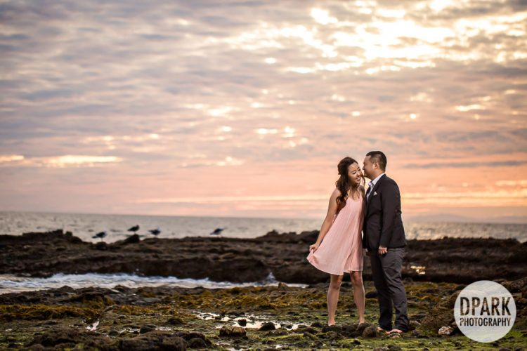 Victoria Beach Engagement | Naryoung + Andrew