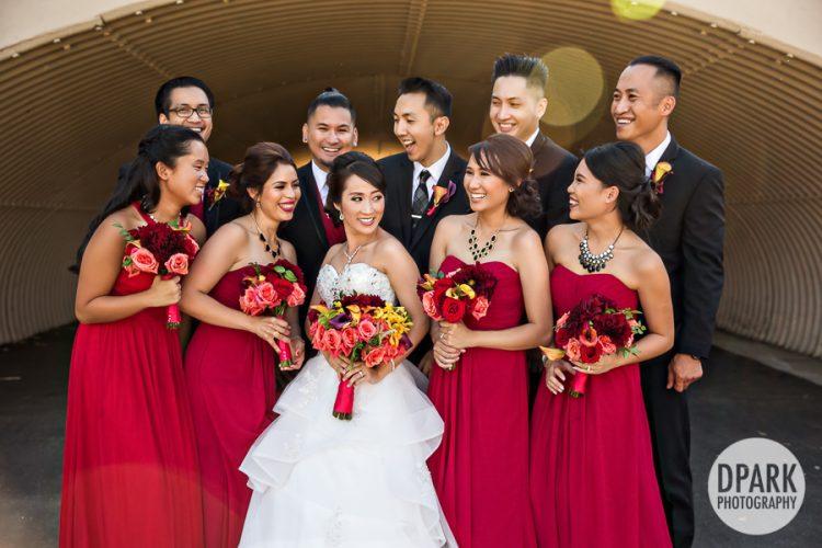 mile-square-park-wedding-romantics-bridal-party