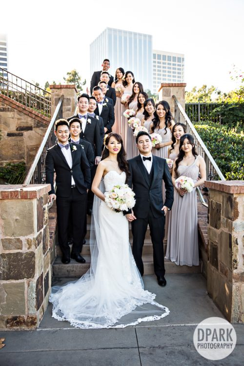 newport-beach-wedding-chinese-bridal-party