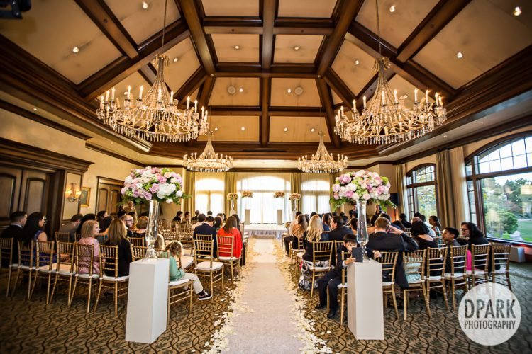 Canyon Country Club Wedding Ceremony Decor