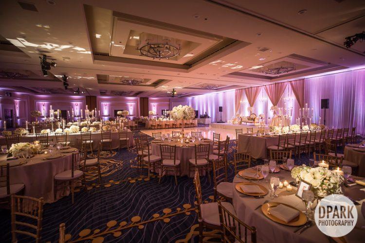 Laguna Cliffs Marriott Wedding Reception