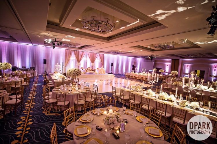 Laguna Cliffs Marriott Wedding Reception Decor