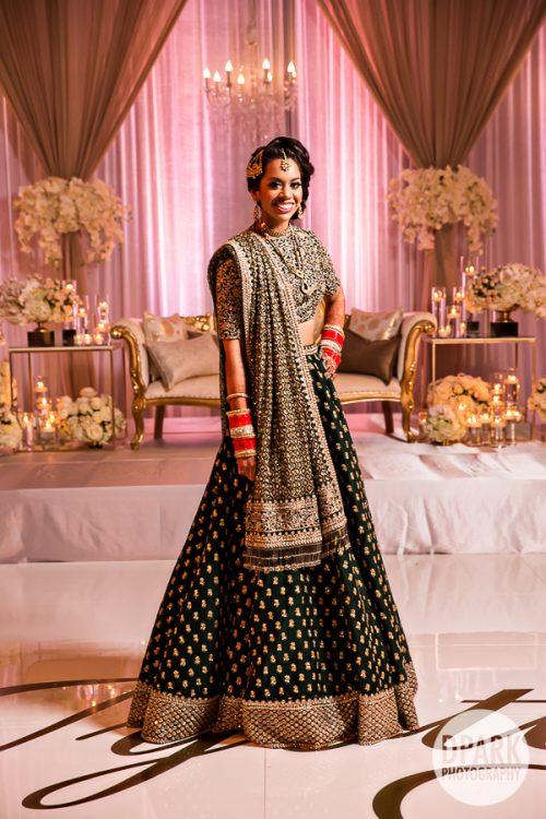 laguna-cliffs-marriott-indian-wedding-reception-dress