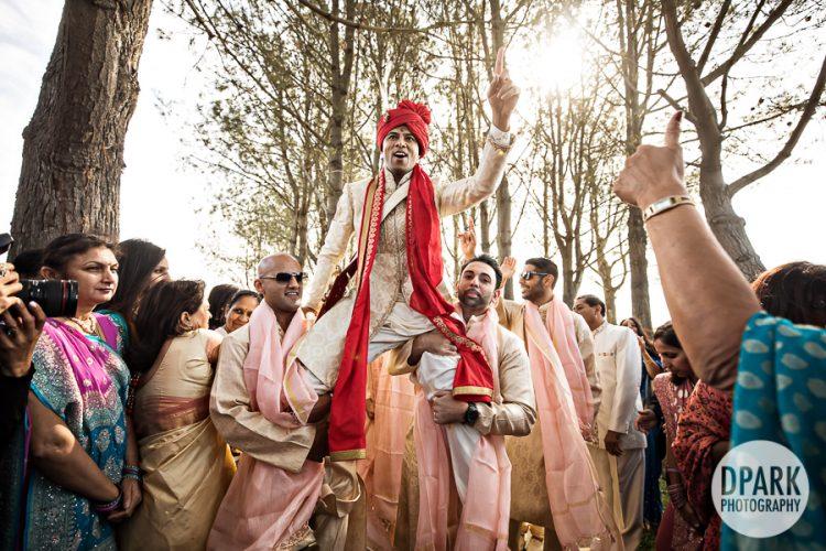 laguna-cliffs-marriott-indian-wedding-baraat