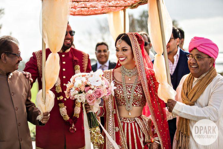 Bride Entrance Indian Wedding Orange County