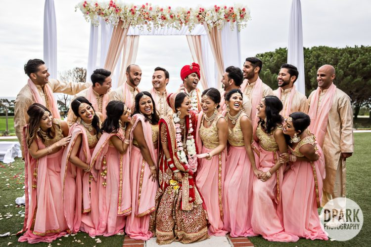 best-indian-wedding-bridal-party-photos