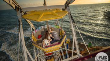Sneak Peek | Santa Monica Engagement | Lynn + Todd