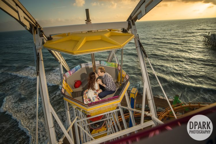 santa-monica-pier-ferris-wheel-engagement