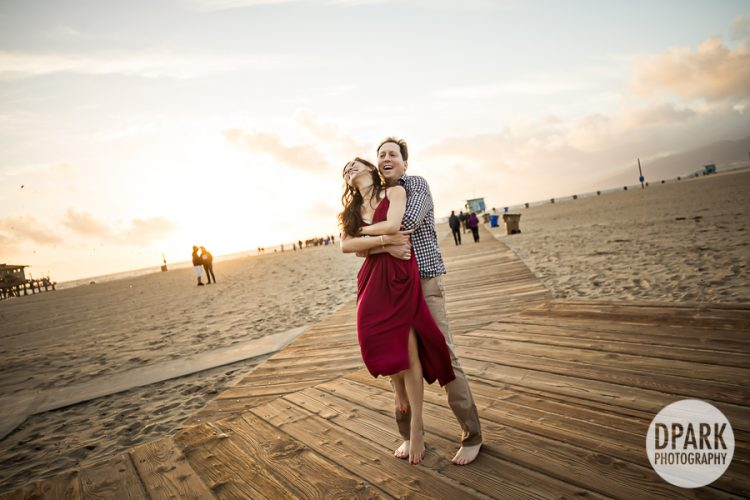 santa-monica-beach-engagement