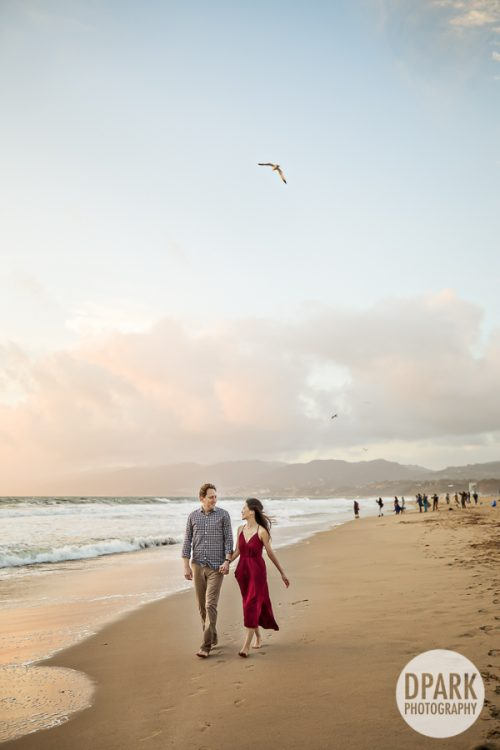 santa-monica-beach-sunset-engagement