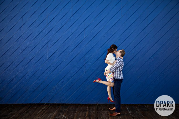 pacific-park-engagement-photography-blue-wall