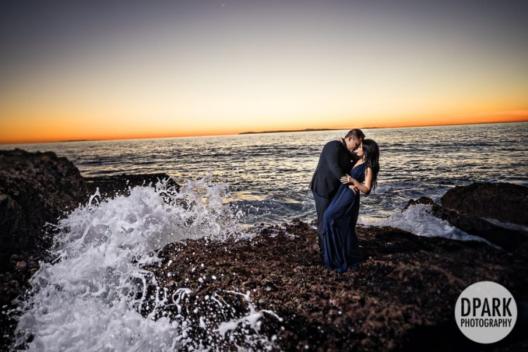 best-beach-engagement-waves-photography