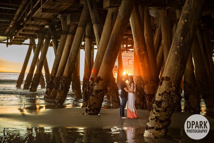 santa-monica-under-pier-vietnamese-engagement