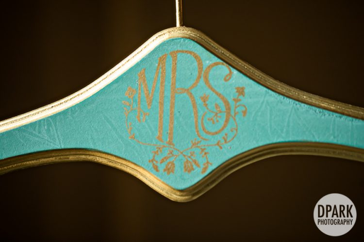 art-deco-teal-blue-green-gold-bride-hanger
