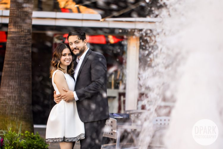 best-water-fountain-tustin-engagement-photographer