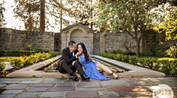 Greystone Mansion Beverly Hills Engagement | Diem + Will