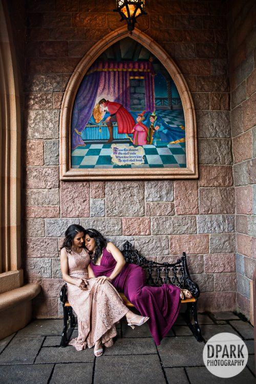 sleeping-beauty-lesbian-engagement-princess-queen