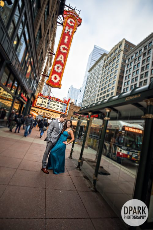 chicago-harris-theater-theatre-engagement-photos