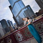 Downtown Chicago Couples Portrait Session   Tanya + Giancarlo