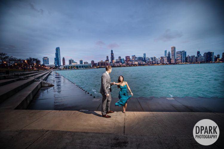 adler-planetarium-engagement-photography