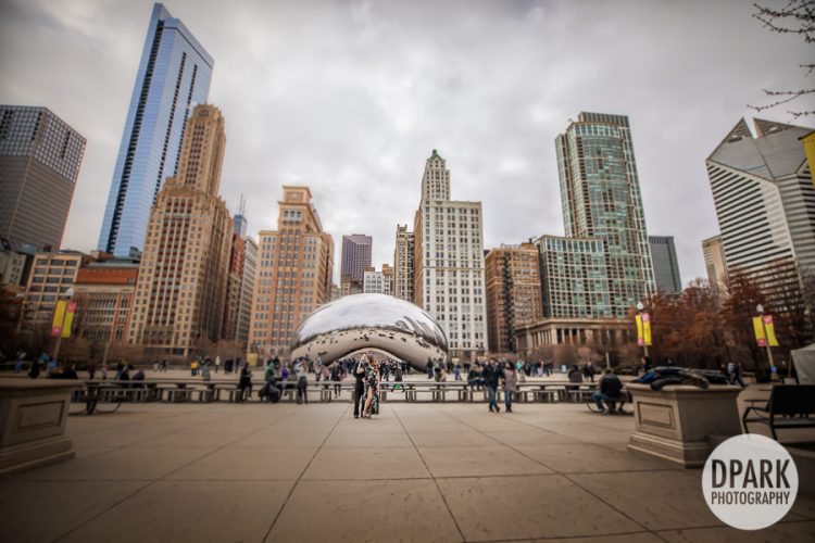 cloud-gate-chicago-bean-engagement-photographer