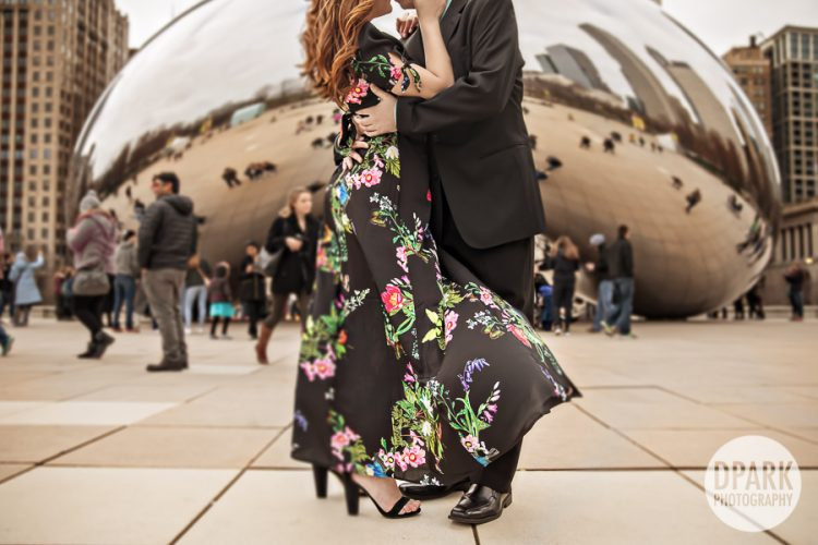 cloud-gate-chicago-bean-engagement-photography
