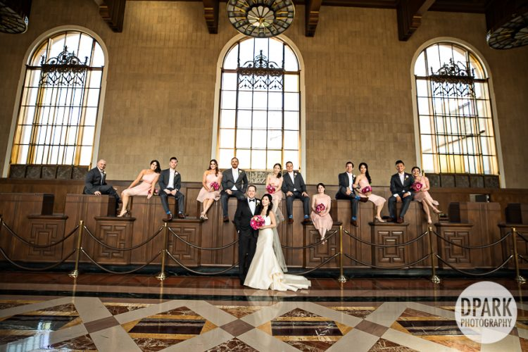 union-station-los-angeles-wedding-photographer-bridal-party