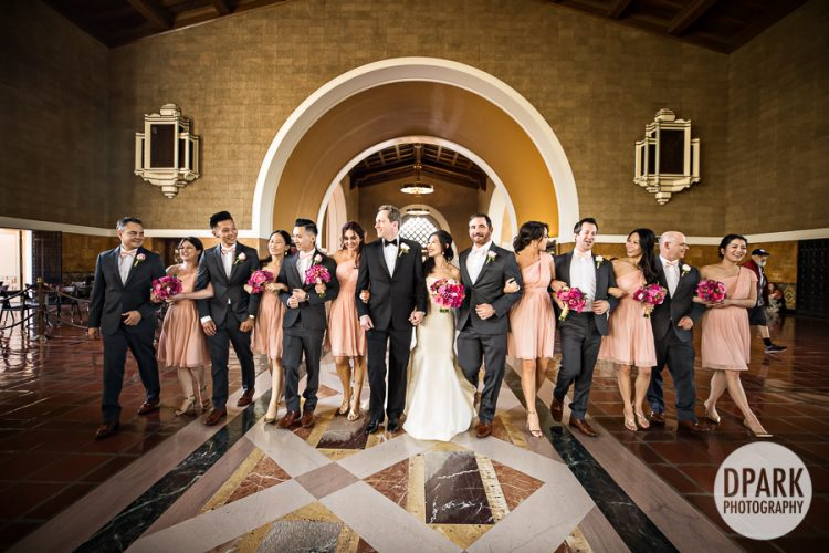 Union Station Los Angeles Wedding | Lynn + Todd