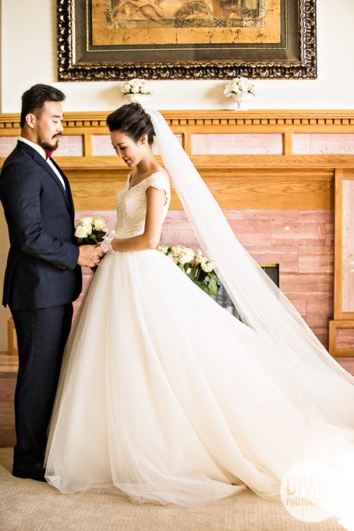 Ceremony, Neutral Romantic Wedding