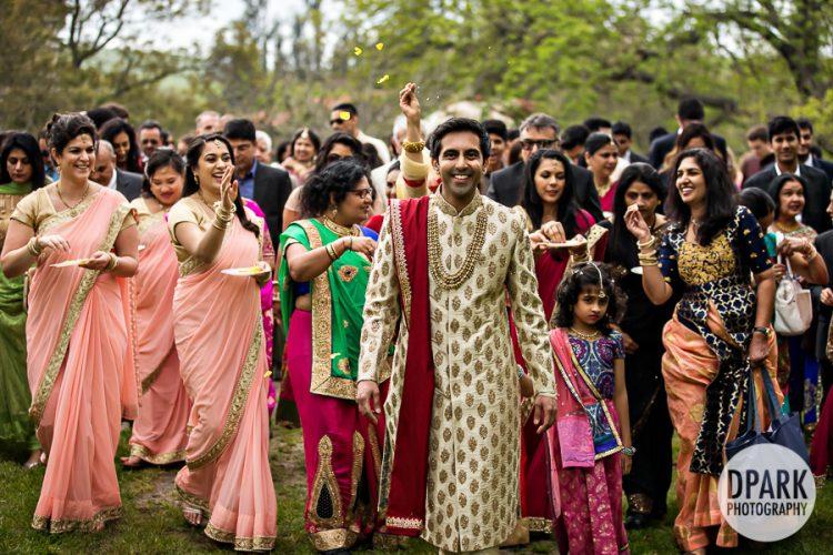 olympias-valley-estate-indian-wedding-baraat